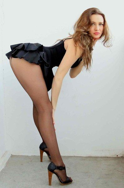 Wear Pantyhose Babe Wearing 86