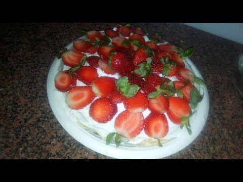 طريقة عمل تورتة شابو نابليون بطريقه بسيطة واقتصادية Youtube Food Strawberry Fruit