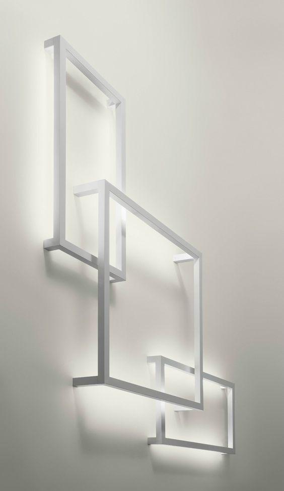 Indirect #light wall #lamp FRAMEWORK by AXO LIGHT   #design Manuel Vivian…
