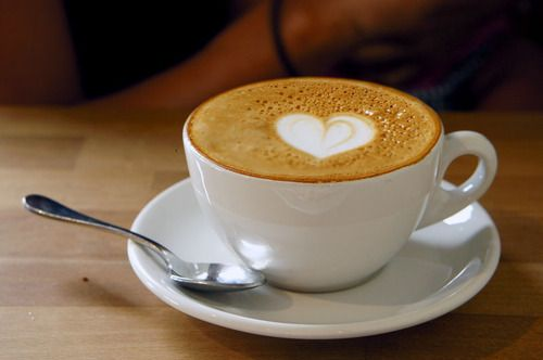 Cappuccino from Panther Coffee in Wynwood, Miami - Tumblr