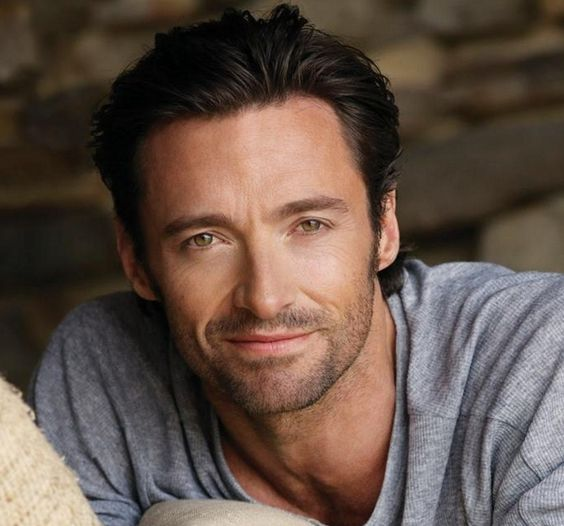 Hugh Jackman. I won't be so Miserablé after cuddle time with this hero