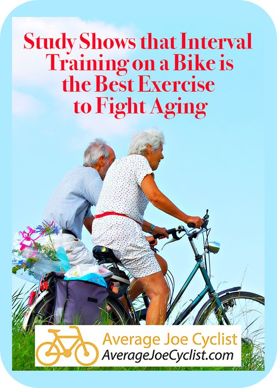 Study Shows That Interval Training On A Bike Is The Best Exercise
