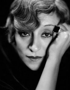 Clarence Sinclair Bull, Portrait of Françoise Rosay, 1930's.