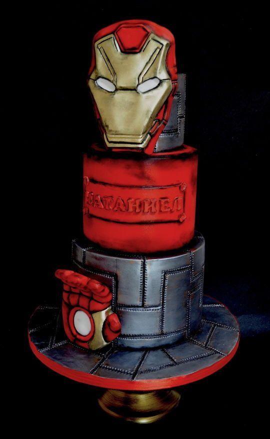 Super 17 Super Cool Superhero Cakes Superhero Cake Iron Man Birthday Personalised Birthday Cards Akebfashionlily Jamesorg