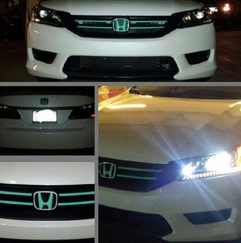 2013 Honda Accord/ Matte Tiffany Blue grille