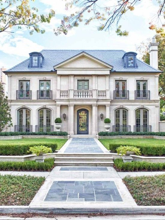 French Manor design by Isler Homes