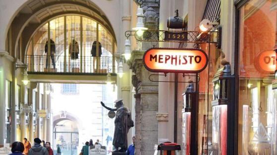 """Die """"Mephisto""""-Bar in der Mädlerpassage"""