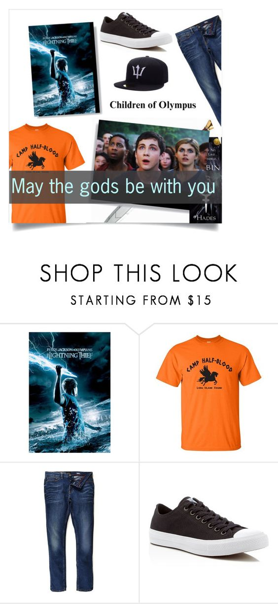 Percy Jackson by sheetal2002 ❤ liked on Polyvore featuring River Island, Converse,