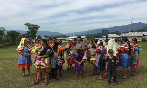 Los Pueblos indígenas Tzeltales, Chiapas, México