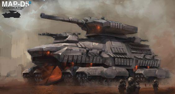 concept tanks: Concept tank by Al Crutchley: