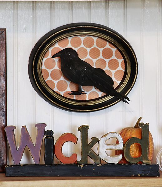 wood letters wicked