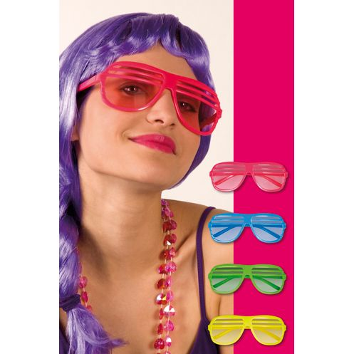 Fiesta de los a os 80 gafas de sol and colores on pinterest - Fiestafacil com ...