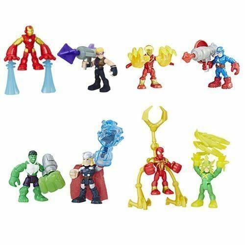 Playskool Marvel Super Hero Adventures Iron Spider-Man Power Up w// Robotic Legs