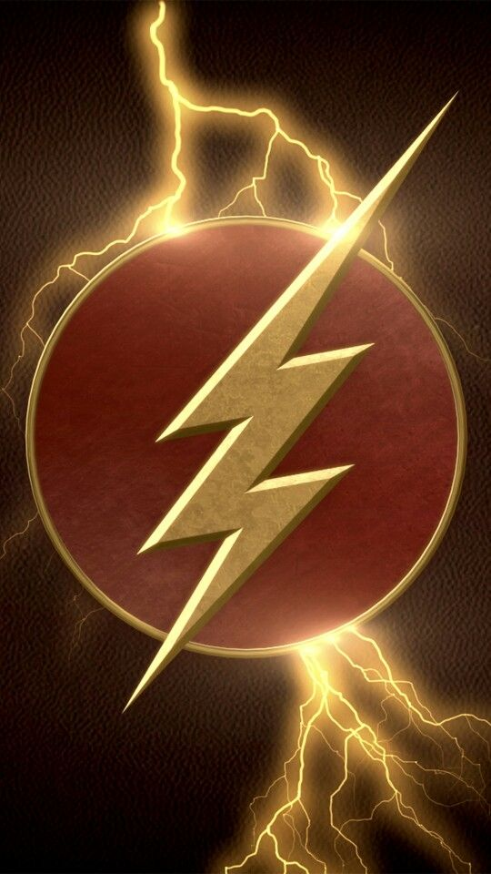 The Flash Logo Wallpapers Mobile Pinterest Logos