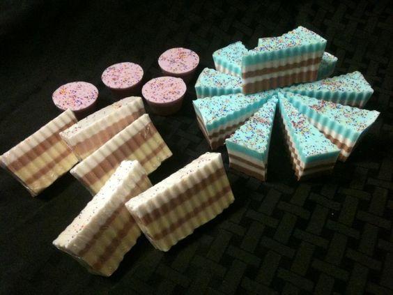 Cake Soaps from Soap Box Ottawa www.facebook.com/soapboxottawa