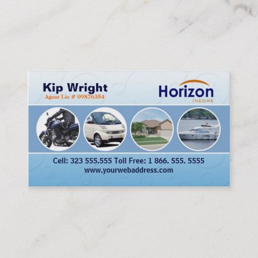 Insurance Business Card Template Zazzle Com Business Insurance