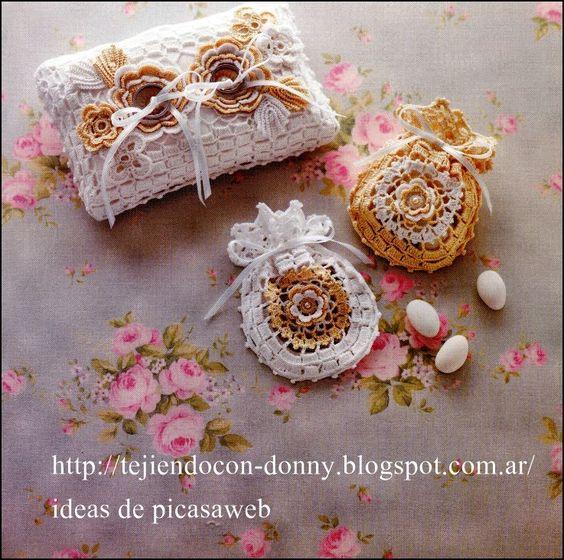 Tejidos a crochet ganchillo patrones bolsitas tejidas - Patrones monederos ganchillo ...