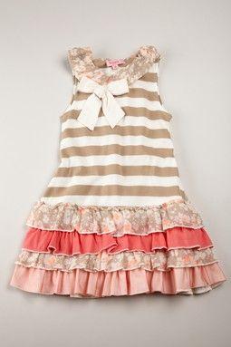Pretty striped dress
