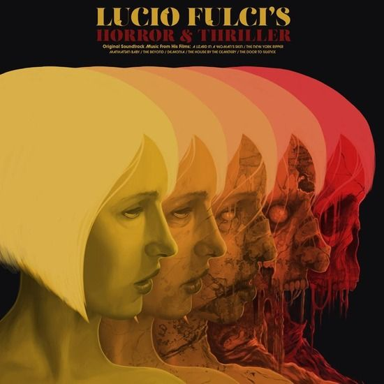 Lucio Fulci S Horror Thriller Compilation Light In The Attic Records Horror Posters Mondo Posters Psychedelic Poster