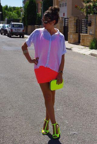 roupas neon inpiradoras