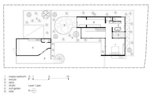 Torquay Concrete House Level 1 Plan Concrete House Concrete Houses Floor Plans