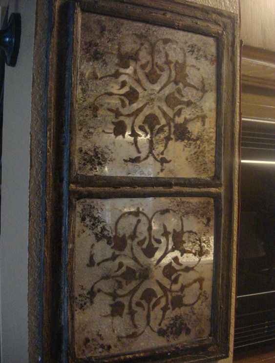 gorgeous grunged/dirty mirrors!  This gives a very detailed description of how these were made with dollar store mirrors!