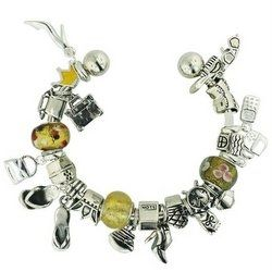 #pandora #charms #giftsforwomen #charmbracelet - Pandora style charm bracelets are very fashionable, and Pandora style charms with a travel theme make a wonderful gift for the woman who loves...