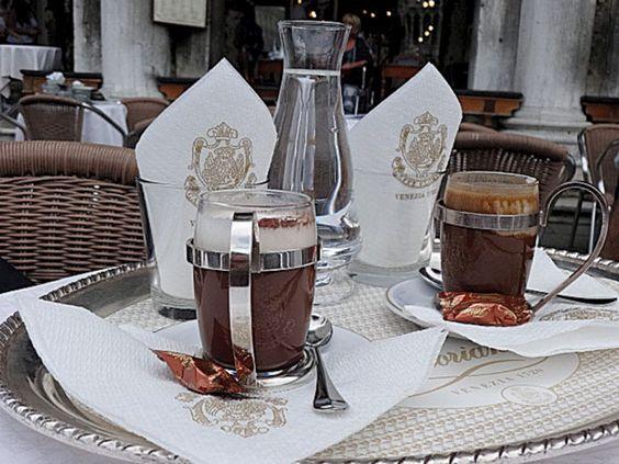 Os cafés foram uma inspiração. Já a conta...