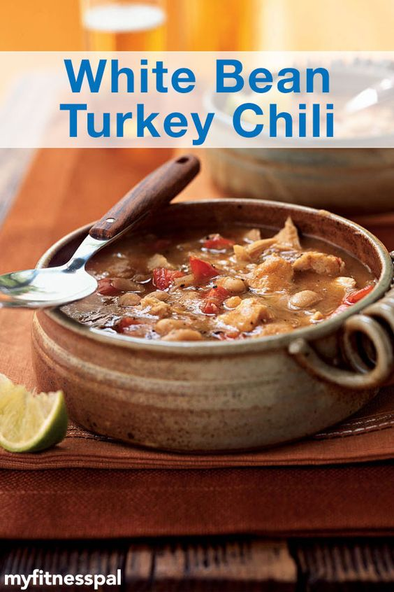 Chili, White bean turkey chili and Turkey chili on Pinterest