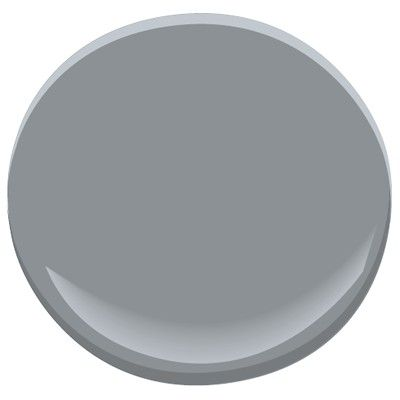 Benjamin Moore Deep Silver 2124-30. #benjaminmooredeepsilver #bestgreypaintcolor