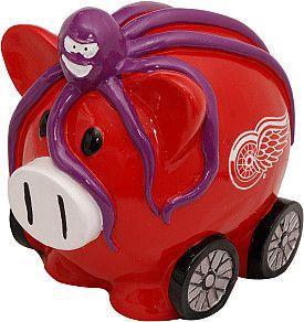 Red Wings Thematic Piggy Bank