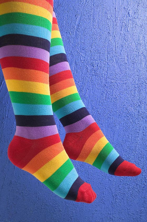 Striped socks - ©Garry Gay (via FineArtAmerica)