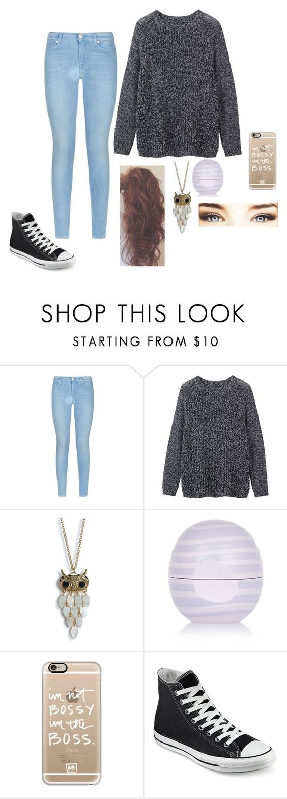 """""""Cousin's engagement party"""" by love-the-world123 ❤ liked on Polyvore featuring 7 For All Mankind, Toast, Aéropostale, River Island, Casetify, Converse, women's clothing, women's fashion, women and female"""