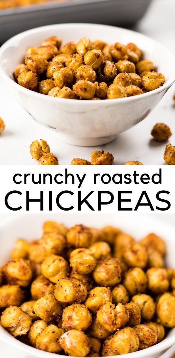 Crunchy Roasted Chickpeas Recipe