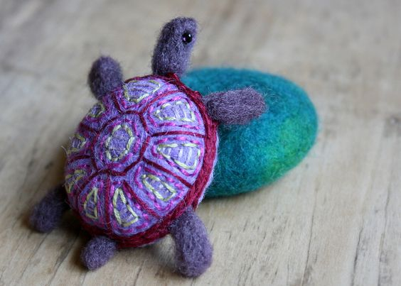 a stone turtle by lilfishstudios, via Flickr
