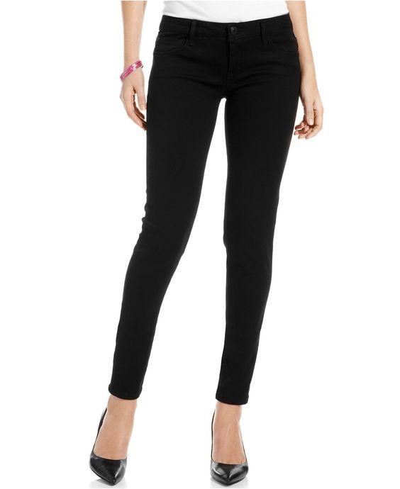 Celebrity Pink Juniors Skinny Jeans Black Wash - Juniors Jeans
