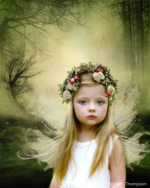 Angel  ~  God bless all little children in Heaven