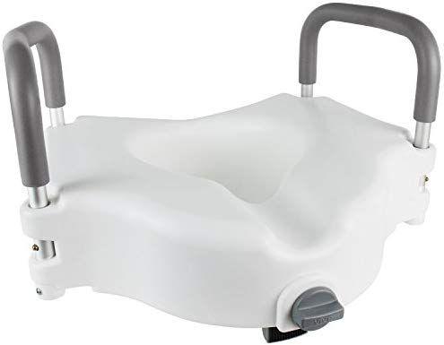 Amazon Com Vive Raised Toilet Seat 5 Portable Elevated Riser