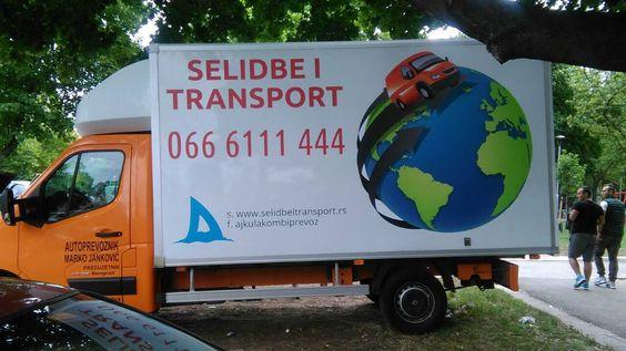 kamion za selidbe i transport