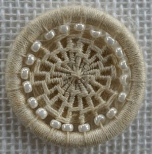 Dorset Button by Henry's Buttons based near Shaftesbury in Dorset, UK, the birth-place of the Dorset Button industry in the 1600s.