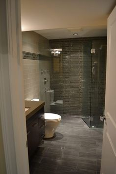 Basement Bathroom Remodel East Lakeview   Barts Remodeling Chicago IL