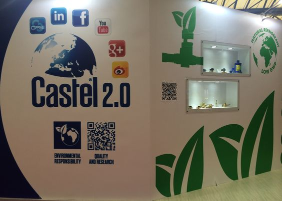 China Refrigeration 2015, #China#Shanghai #refrigeration#airconditioning #Aprile2015#riscaldamento #ventilazione#fair #Castel #stand#ChinaRefrigeration #GoGreen#prodotti #green #ambiente#Co2 #OpenFactory #event #Castel