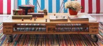 Organize sem Frescuras | Rafaela Oliveira » Arquivos » Reutilize paletes e decore sua casa