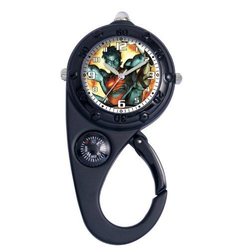 Marvel Comics Kids' MA0305-D96 Marvel Nightcrawler Adventure Black Clip Watch Marvel Comics. $12.61