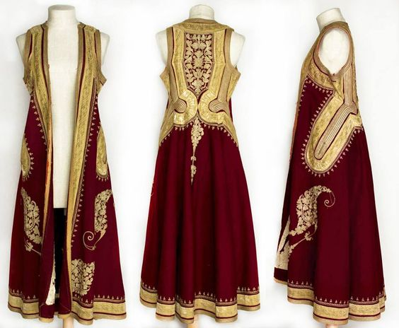 Albanian Woman's Coat(Giubba/Pirpiri) of 19th century: