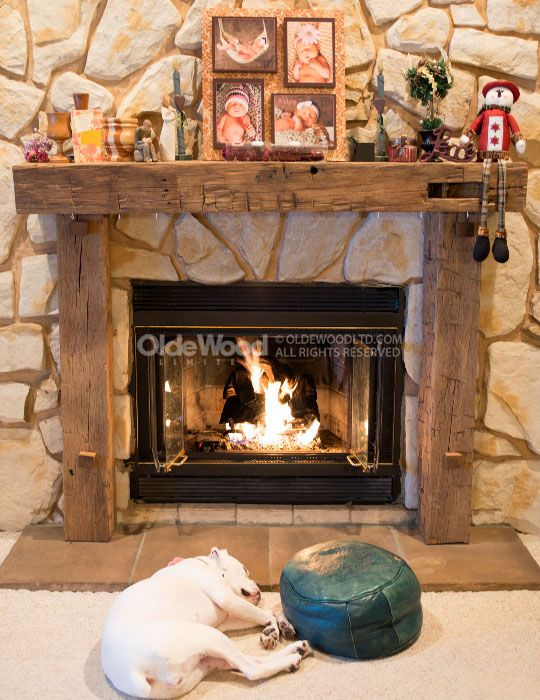 Reclaimed Fireplace Mantel | Rustic Fireplace Mantels | Ohio Mantel | House  stuff | Pinterest | Rustic fireplace mantels, Rustic fireplaces and  Fireplace ...