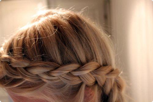 blonde-braid