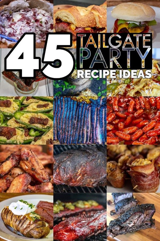 45 Tailgate Food Recipes - You'd Be Crazy Not to Try These!