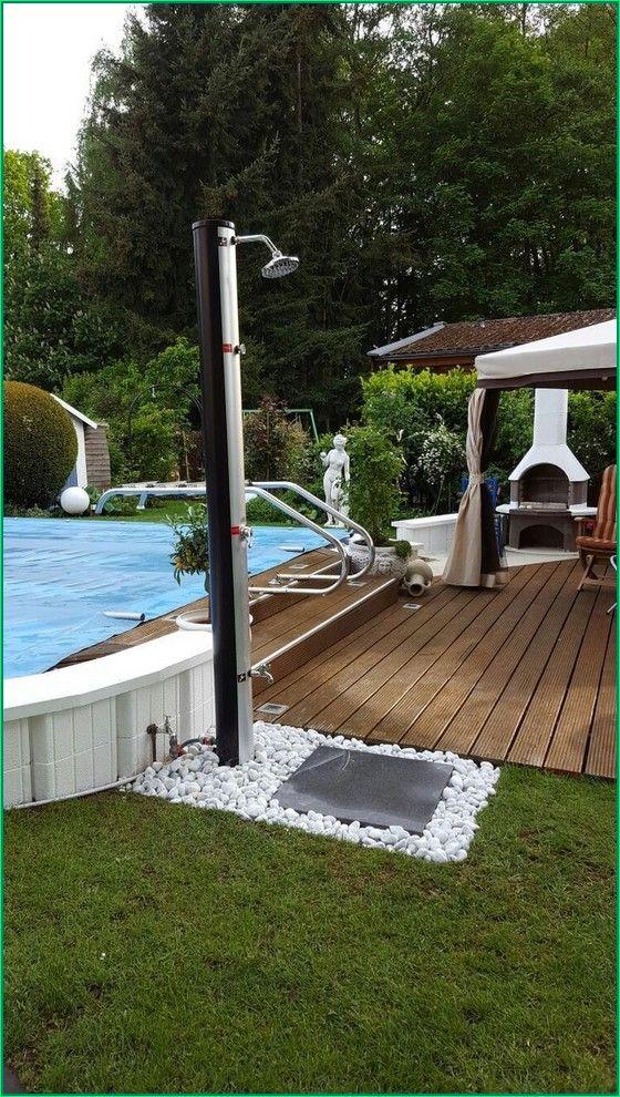 30 Backyard Design On A Budget To Your Garden Design Ideas Backyardlandscaping Backyardpatiodesigns Back Outdoor Pool Shower Pool Patio Outdoor Shower Diy