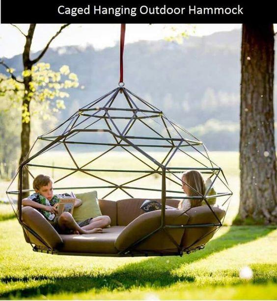 Caged hammock